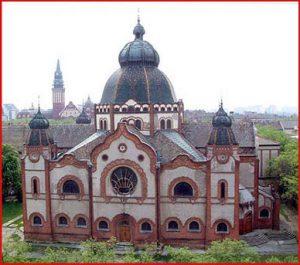 A szabadkai zsinagóga épülete